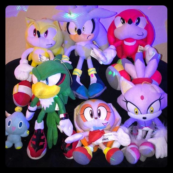 Sega Other Sonic Collectors Plushies Poshmark
